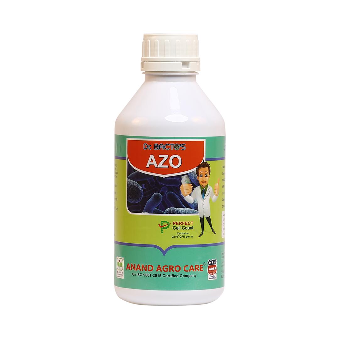 Dr. Bacto's AZO, Azotobacter chrocoocum . Free living nitrogen fixing aerobic bacterium, inhibits th