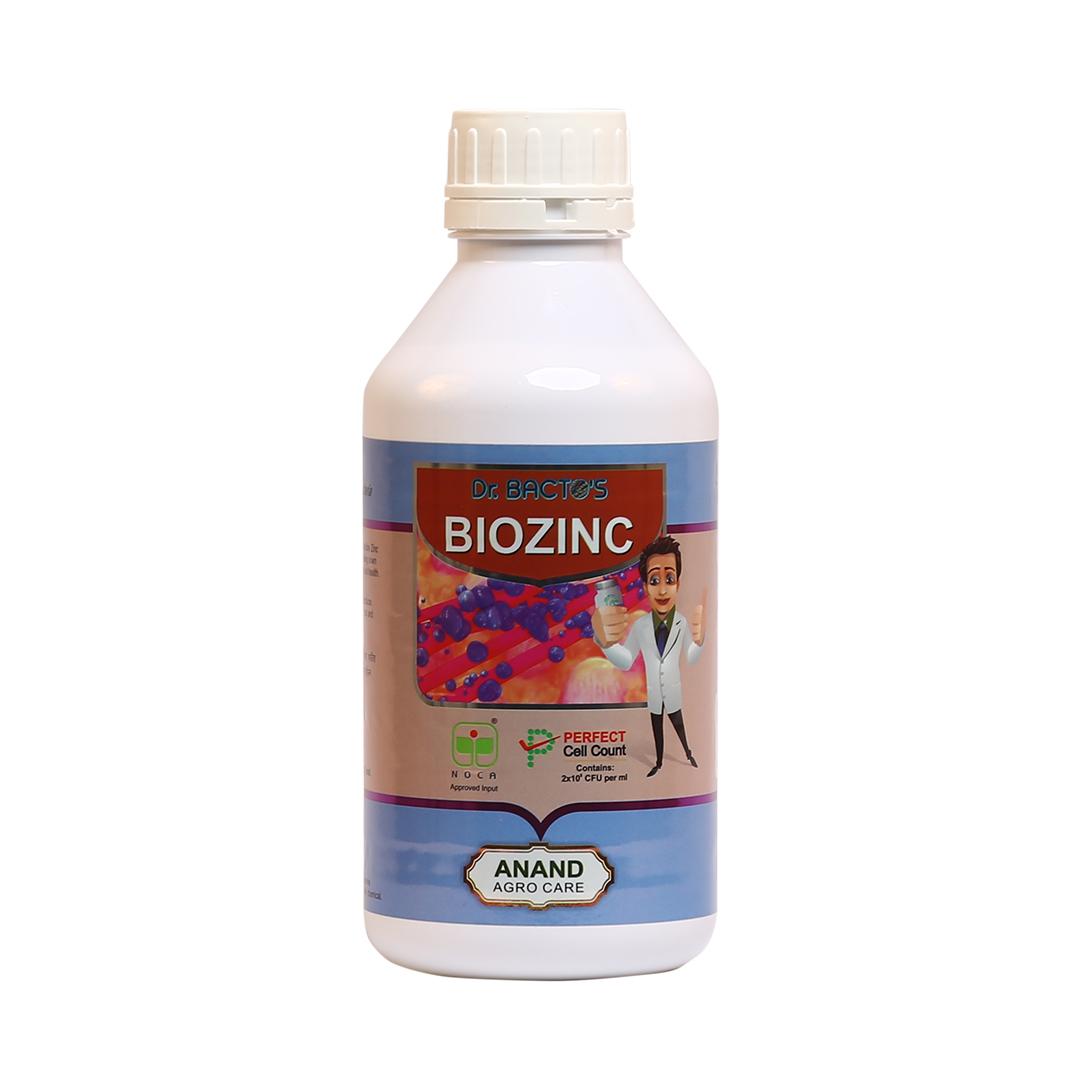 Dr. Bacto's BioZinc, Aspergillus Spp, Pseudomonas Spp, It converts Zinc Oxide and carbonate in avail