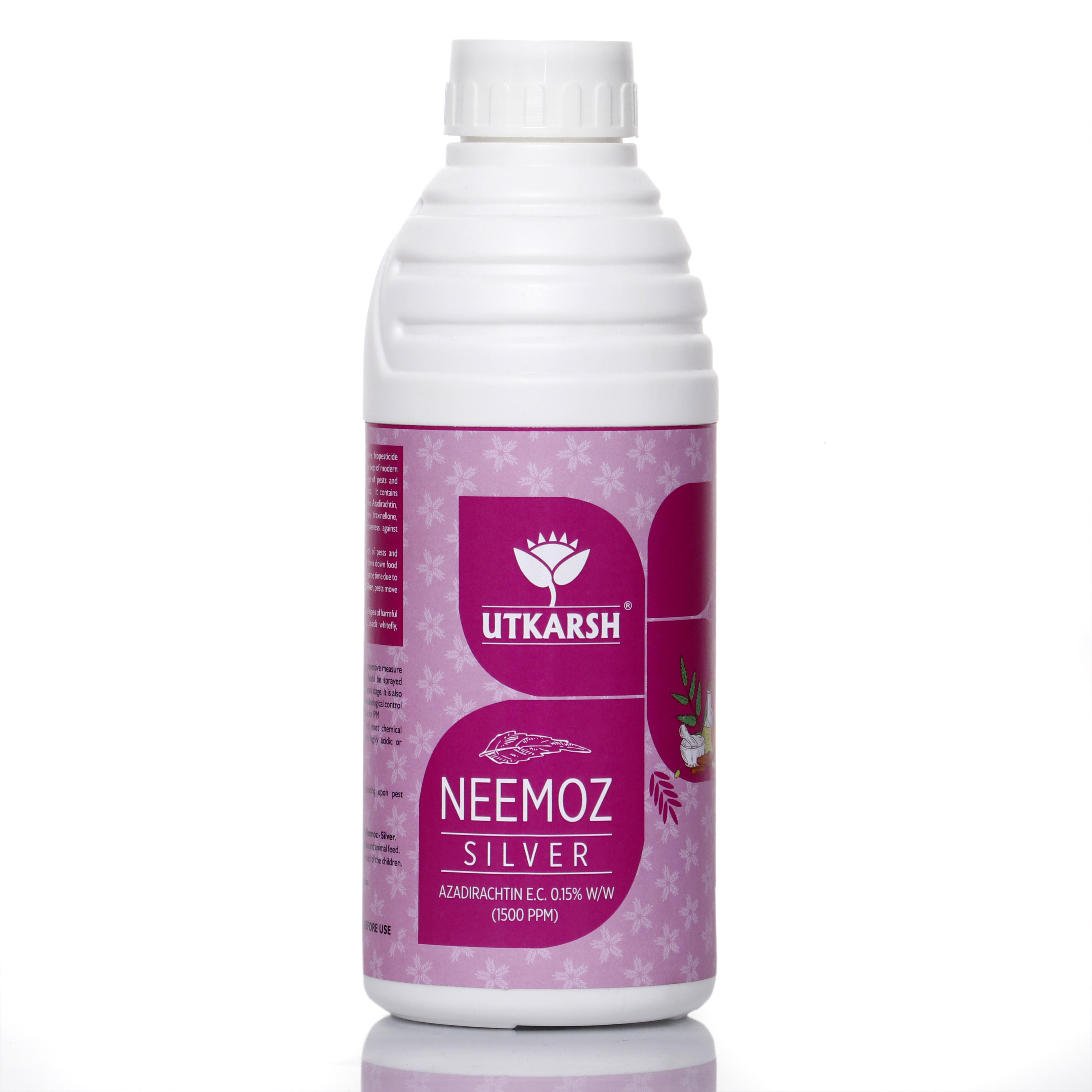 Utkarsh Neemoz - Silver (Natural Neem Oil With 1500 ppm Azadirhactin)