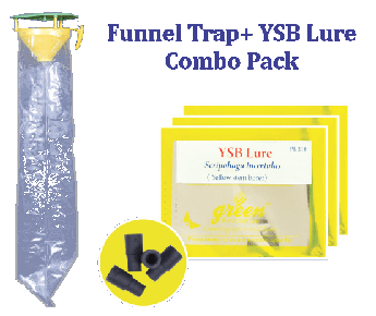 Funnel Trap with Lucin O Lure Combo Pack (Leucinod