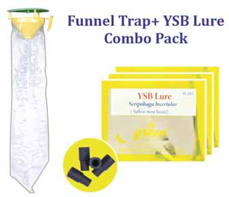 Funnel Trap with YSB Lure Combo Pack (Scirpophaga