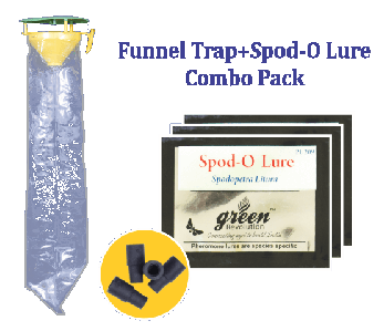 Funnel Trap with Spodo O Lure Combo Pack (Spodopte